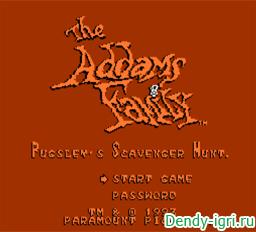 Семейка Адамс Приспособление Пагсли на охоте денди