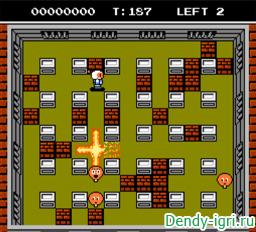 Bomberman 2 денди