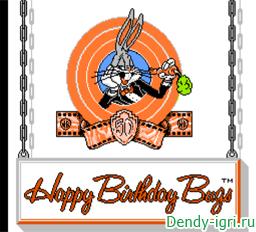 Срыв Дня рождения кролика Багза Банни денди