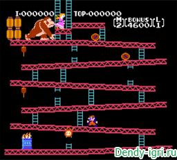 Donkey Kong Classics денди