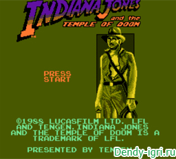 Индиана Джонс и Храм Судьбы денди
