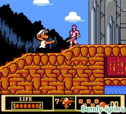 Super Mario 10 Kung Fu денди