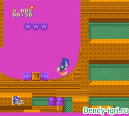 Sonic 3D Blast 5 денди