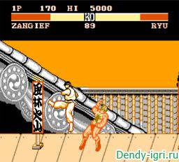 Street Fighter 2 денди