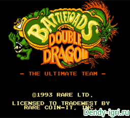 ������ ����� ���� ������ ���� � ������� ������ / Battletoads & Double Dragon - The Ultimate Team